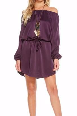 Chaser Silk Charmeuse Dress