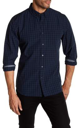 AG Jeans Standard Fit Button Down Plaid Shirt