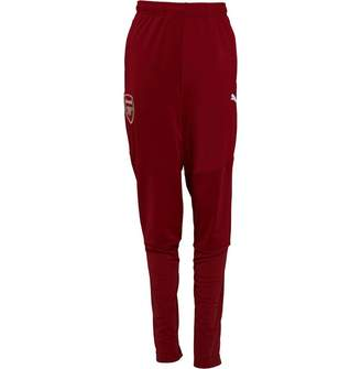 Puma Junior Boys AFC Arsenal Stadium Pants Red Dahlia