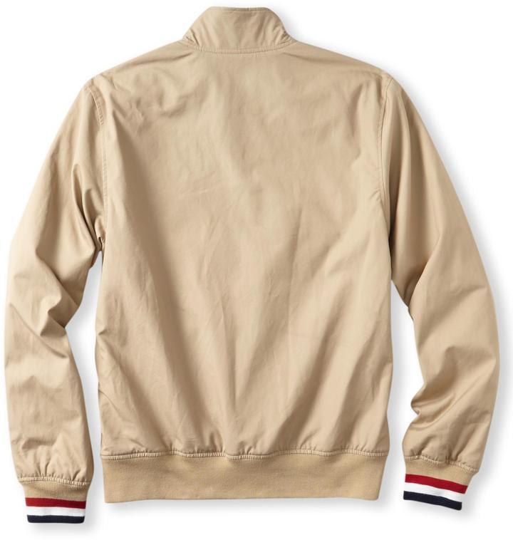 Lacoste L!VE Retro Jacket with Knit Trim