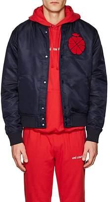 Leon Aime Dore Men's Polished Twill Bomber Jacket