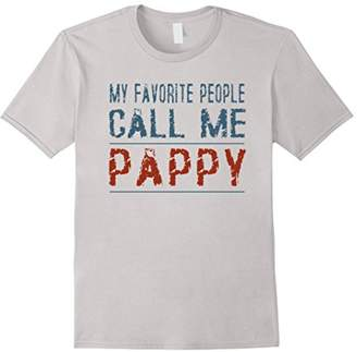 My Favorite People Call Me Pappy Proud Dad Grandpa T-shirt
