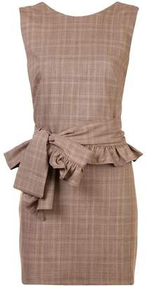 DAY Birger et Mikkelsen Maggie Marilyn belted check mini dress