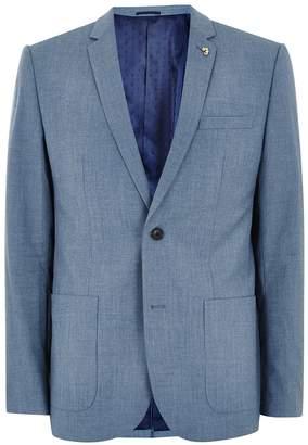 Topman FARAH'S Blue 'Hurstleigh' Blazer