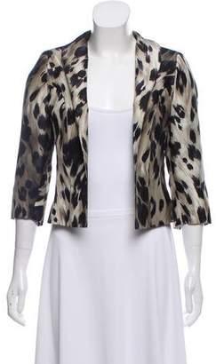 Pauw Silk Printed Blazer w/ Tags