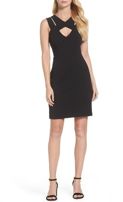 Women's Betsey Johnson Stretch Sheath Dress $118 thestylecure.com