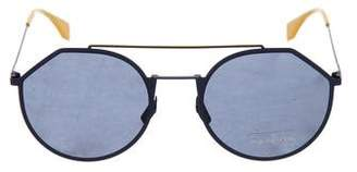 Fendi Polarized Round Sunglasses w/ Tags