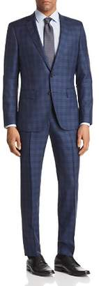 BOSS Huge/Genius Slim Fit Box Plaid Suit