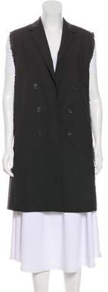 Brunello Cucinelli Virgin Wool Monili-Trimmed Vest