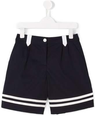 Dolce & Gabbana striped hem shorts