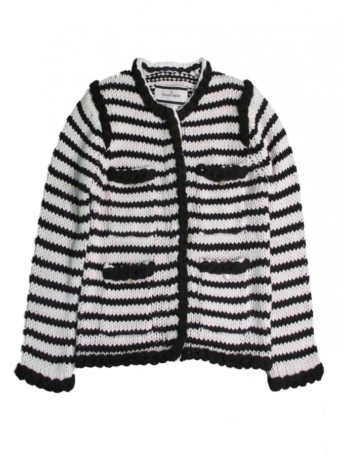 By Malene Birger Baniel, Chanel Striped Cardi