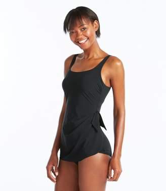 L.L. Bean L.L.Bean Slimming Swimwear, Sarong Tanksuit