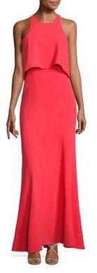 BCBGMAXAZRIA Louella Popover Gown $398 thestylecure.com