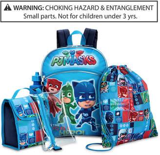 Disney Juniors Pj Masks Little & Big Boys 5-Pc. Backpack & Accessories Set