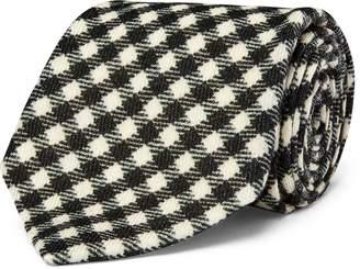 Ralph Lauren Gingham-Print Wool Tie