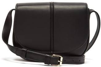 A.P.C. Betty Smooth Leather Cross Body Bag - Womens - Black
