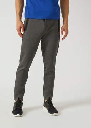 Emporio Armani Ea7 Jogging Trousers With Taped Seams