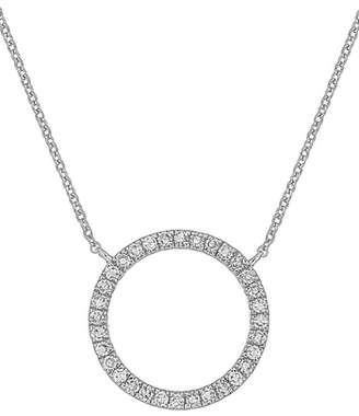Carriere JEWELRY Diamond Circle Pendant Necklace