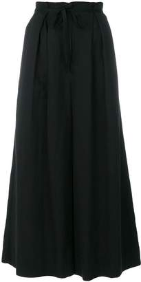 Ulla Johnson cropped flared trousers
