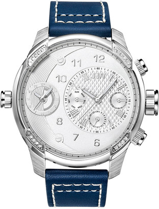 JBW Men's G3 Diamond & Crystal Watch