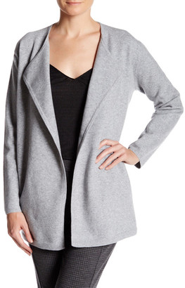 Theory Nyma Ko Wool Blend Felt Open Cardigan $595 thestylecure.com