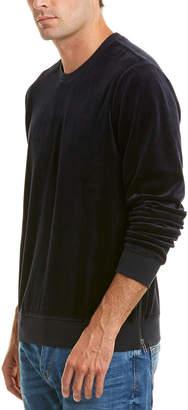 Vince Side-Zip Crew Sweater