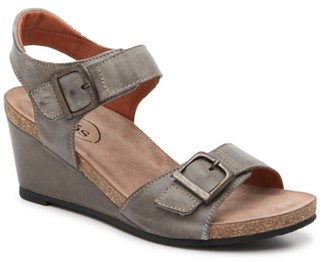 Taos Buckle Up Wedge Sandal