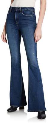 Hudson Holly High-Rise Flare Pants