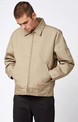 Dickies Insulated Eisenhower Khaki Work Jacket