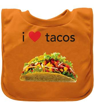 Green Sprouts Green sprouts Favourite Foods Absorbent Pull Over Food Bib (Orange Tacos)