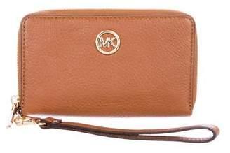 MICHAEL Michael Kors Logo Zip-Around Wallet
