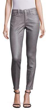 NYDJ Ami Metallic Skinny Legging Jeans $148 thestylecure.com