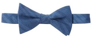 Tommy Hilfiger Indigo Stripe Pre-Tied Bow Tie