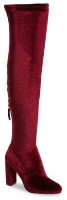 Women's Steve Madden Emotionv Over The Knee Boot $129.95 thestylecure.com