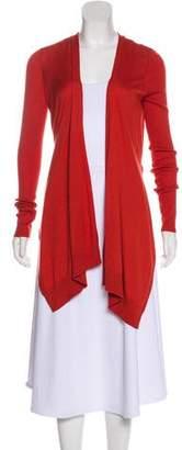 Diane von Furstenberg Silk & Cashmere Open Cardigan