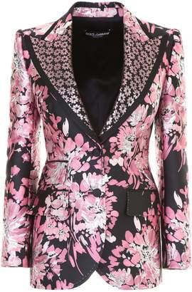 Dolce & Gabbana Floral Brocade Jacket