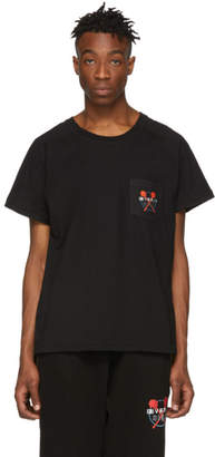 Baja East Black Beverly Hills Pocket T-Shirt