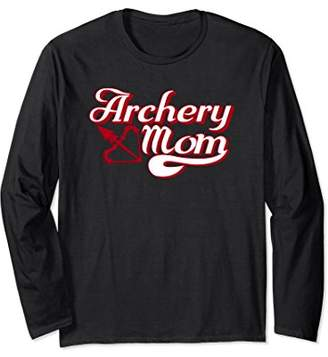 Archery Mom Long Sleeve Shirt For Women Archer Gift