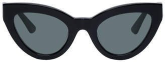 McQ Black Cult Cat-Eye Sunglasses