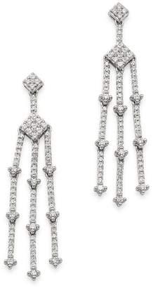 Bloomingdale's Diamond Geometric Chandelier Earrings in 14K White Gold, 1.0 ct. t.w. - 100% Exclusive