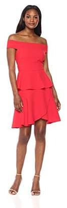 Eliza J Women's Off-The-Shoulder Tie Dress