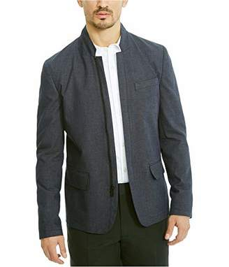 Kenneth Cole Reaction Men's Slim Blazer with Zip Front