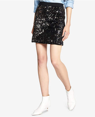 Sanctuary Ready for the Night Sequin Mini Skirt