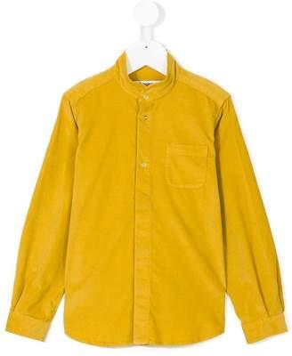 Dondup Kids mandarin neck shirt