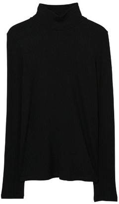 MANGO Stand collar t-shirt