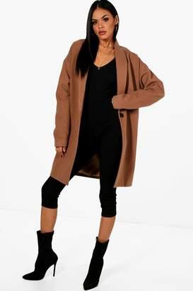 boohoo Oversized Wool Look Coat