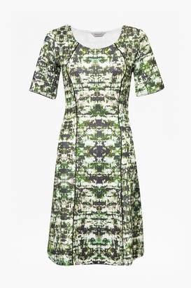 Emerald City Skater Dress