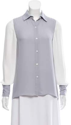 Ramy Brook High/Low Two-Tone Top