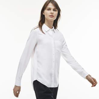 Lacoste (ラコステ) - コットンツイルシャツ (長袖)