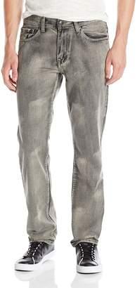 Akademiks Men's Central Wash Denim Jean